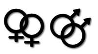 Homosexualité : homosexuels masculins et féminins, gays et lesbiennes