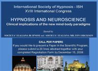Société Internationale d'Hypnose - ISH: Le 18ème congrès de la Société Internationale d'Hypnose