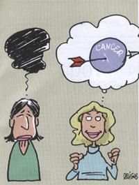 La visualisation, une aide à la chimiothérapie