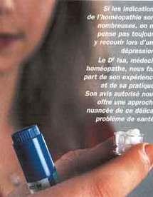 Homéopathie et dépression