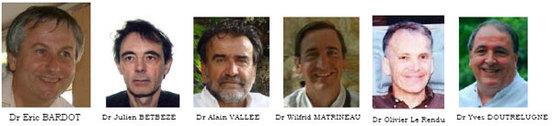 Hypnose, Thérapies Stratégiques, Mouvements Alternatifs: Formation HTSMA, Formateurs HTSMA
