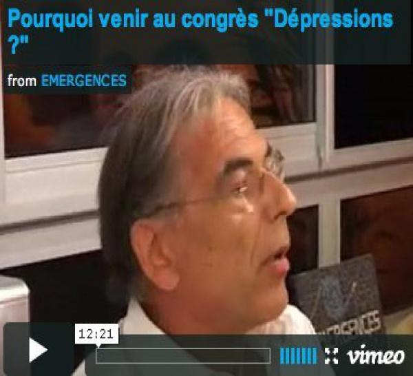 Congrès Dépressions: Formation Hypnose Ericksonienne et Thérapie Brève